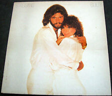 BARBRA STREISAND-GUILTY+BARRY GIBB-UK G'FOLD CBS LP+PHOTO/INFO INNER SLEEVE-1980