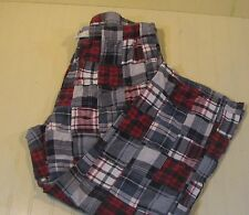American Eagle Outfitter Mens XL Madras Lounge Pants Patchwork Plaid