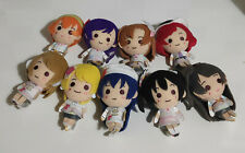 "Love Live - Keychain Collection 4"" Plush Doll Ver. Snow Halation (1 SET)"