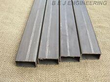 Mild Steel Box 50mm x 25mm x 2.5mm - 1000mm lg - 4 Pack - Rectangular Tube