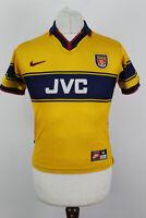 NIKE Arsenal 1997-99 Away Football shirt size M Boys