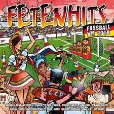 FETENHITS Fussball WM 2018    3 CD  NEU & OVP