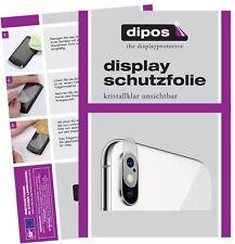 6x Apple iPhone XS Kamera Schutzfolie klar Displayschutzfolie Folie Display