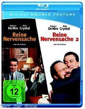REINE NERVENSACHE 1+2 (Robert De Niro, Billy Crystal) 2 Blu-ray Discs NEU+OVP