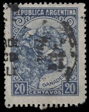 """ARGENTINA 440 (Mi582i) - Ganaderia """"Cattle"""" 1951 Lithography (pa68940)"""