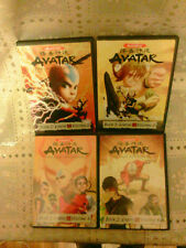 Avatar: The Last Airbender - Book 2: Earth Volume 1, 2, 3, 4 (DVD, 2008) Good +1