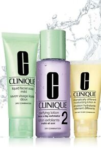 Clinique 3 Step Skin Type 2 (Dry Combination)~New 🎁~💯