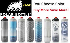 Polar Breakaway 24oz Insulated Bike Water Bottle w/ Surge Valve