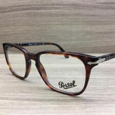84048eef03 Persol 3117-V Eyeglasses Havana Silver 24 Authentic 51mm