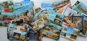Lot of 400 Vintage Unused Postcards Europe Spain Germany France Austria Italy +