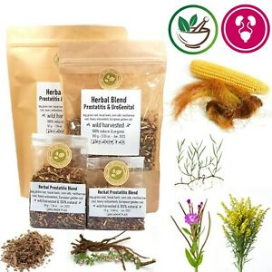 Urinary System & Prostate Herbal Blend Tea, 6 Herbs for Urinary Tract Problems