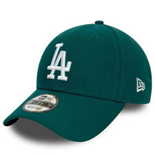New Era Men's MLB Los Angeles Dodgers League Essential Teal & White 9FORTY  Cap