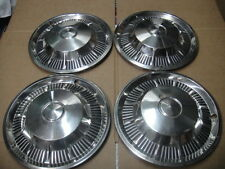 1962 Ford Galaxie 500 XL Sunliner Country Squiare Hubcap Wheelcover set of 4