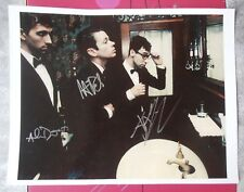 Fun. Autograph Signed Photo 8.5x11 Nate Ruess Andrew Dost Jack Antonoff Verified