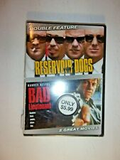 Reservoir Dogs/Bad Lieutenant (Dvd, 2007, 2-Disc Set) Tarantino Classic Sealed!