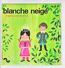 """BLANCHE NEIGE Vinyl 45T 7"""" SP Conte GRIMM Enfant SONOPRESSE 5003 F Rèduit RARE"""