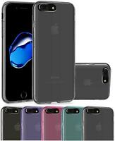 iPhone 7 Plus Housse Etui de protection Silicone Coque Fine TPU Gel pour Apple i