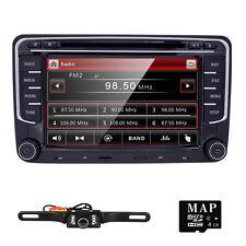 Fit VW Jetta Passat Tiguan Car Stereo GPS DVD Player Radio BT USB Canbus Camera