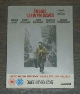 Inside Llewyn Davis - Steelbook - blu-ray. New & sealed, UK release.