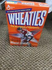 WAYNE GRETZKY #99 WHEATIES CEREAL BOX TEAM CANADA/ RANGERS VINTAGE NEW SEALED