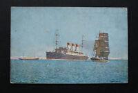 Marine Schiff AK Dampfer CAP POLONIO Hamburg Südamerika 1910-20 englischer Kanal