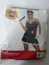 Hollywood Costumes Style Naughty Cop Sexy Costume #16030 Role Play Women's L/XL