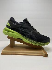 Asics Gel Kayano 25 Mens Running Shoes 1011A019 Sz 9 US Neon Lime Green/Black