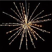 Hi-Line Gift Ltd  37377-240 240 Liter Floral Lights Led Starburst Warm White