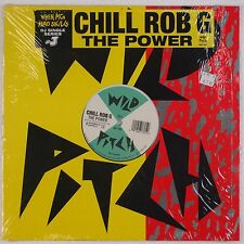 """CHILL ROB G: The Power WILD PITCH Shrink '98 Reissue. SUPER 12"""" Rap Hip Hop"""