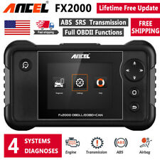 Ancel FX2000 OBD2 Scanner ABS SRS Engine Transmission Automotive Diagnostic Tool