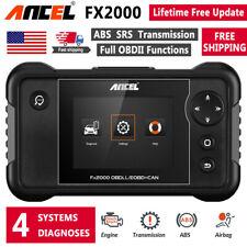 Ancel FX2000 OBD2 Engine SRS ABS Airbag Transmission Scanner Car Diagnostic Tool