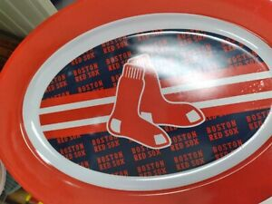 Boston Red Sox Sports picnic Outdoor Plates Set of 4. World Series Champions