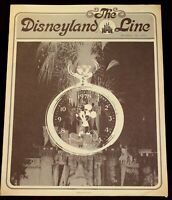 Disneyland 1977 Walt Disney New Years Eve Newsletter Matterhorn Mickey Mouse