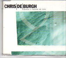 (EX672) Chris De Burgh, When I Think Of You - 1999 DJ CD