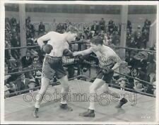 Actors Pat O'Brien & Mushy Callahan Boxing Movie Night Parade Press Photo