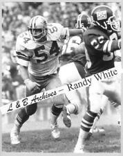 11x14 RANDY WHITE Dallas Cowboys Giants 1975 Game Photo Maryland Terapins