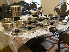 Saladmaster Versa Tec Surgical Stainless Steel Professional Set w/ Extras!