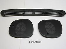 98-05 Blazer Jimmy Sonoma Bravada Dash Defrost Cover Left Right Speaker Grille