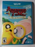 Adventure Time: Finn & Jake Investigations (Nintendo Wii U, 2015)