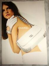 Chanel fashion catalog Accessories Jeisa Chiminazzo purse jacket Karl Lagerfeld