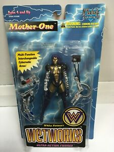 MOTHER ONE Whilce Portacios Wetworks Ultra Action Figures BNIB 1995 #1203