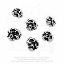 ALCHEMY GOTHIC Buttons Bottoni 6 Skulls OFFICIAL MERCHANDISE