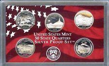 """2006-S   STATE QUARTERS COMMEMORATIVE """"S-PROOF""""  90% SILVER Set, US Mint Case"""
