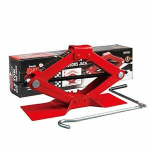 BIG RED T10152 Torin Steel Scissor Lift Jack Car Kit 1.5 Ton 3000 lb Capacity...