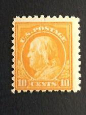 1914 US 10 Cent Franklin Scott #433 Mint LH OG