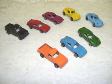Tootsietoy Metal Cars and Trucks Set of eight