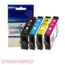 4Pk Compatible Ink Cartridge Set for HP 902 OfficeJet Pro 6960 6968 6970 6974