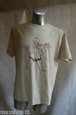 TOP TEE SHIRT THE SIMPSONS TAILLE L HOMER SEXY ATHLETIC MAGLIA NEUF ABYSTYLE