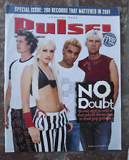 Pulse NO DOUBT January 2002 Magazine GWEN STEFANI 200 Records LA