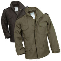 SURPLUS M65 US Fieldjacket  Feldjacke Herren BW Parka Outdoor Jacke Army Biker